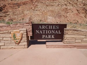Entrée Arches NPS
