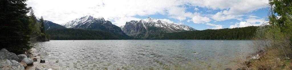 Lake Creek à Grand Teton