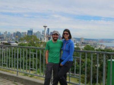 Deux Évadés dans les hauteurs de Kerry Park à Seattle