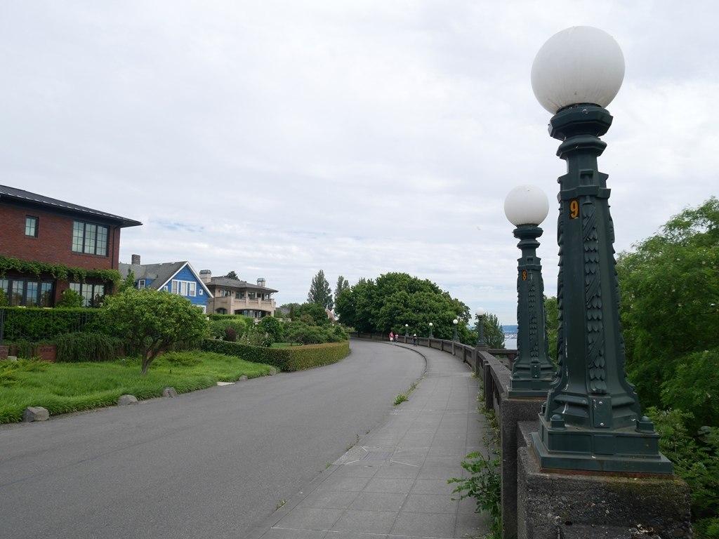 Queen Anne district à Seattle