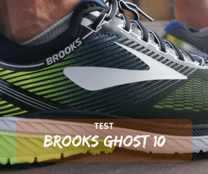 Test Brooks Ghost 10