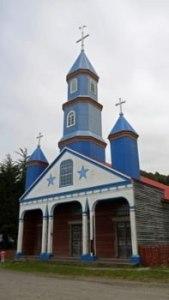 Église de Tenaum sur Chiloe