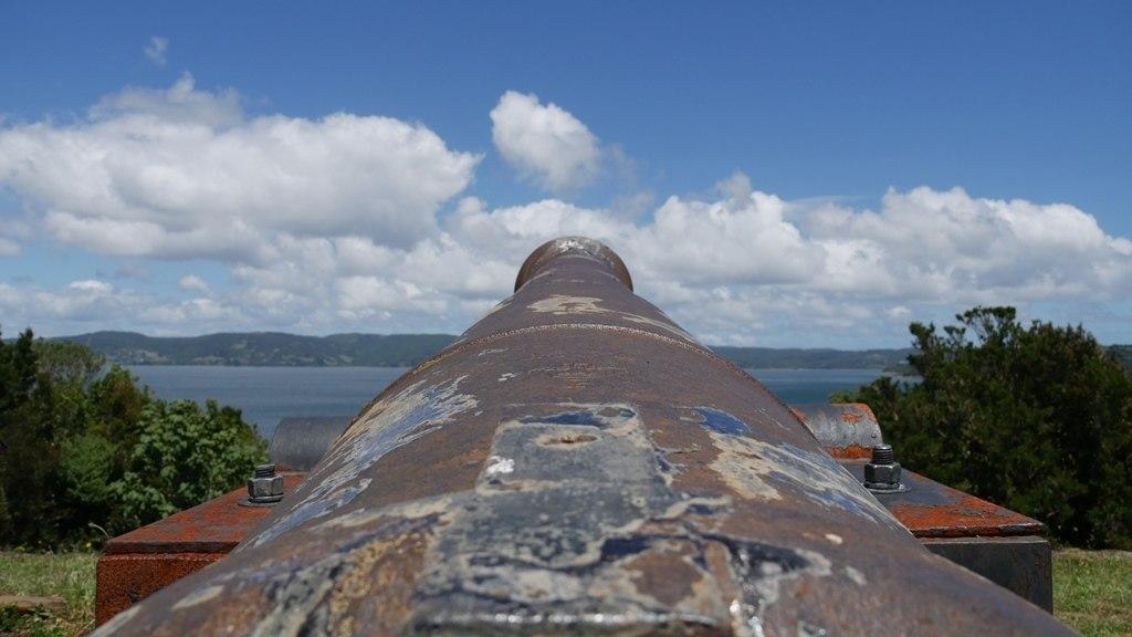 Fort Ahui sur Chiloe
