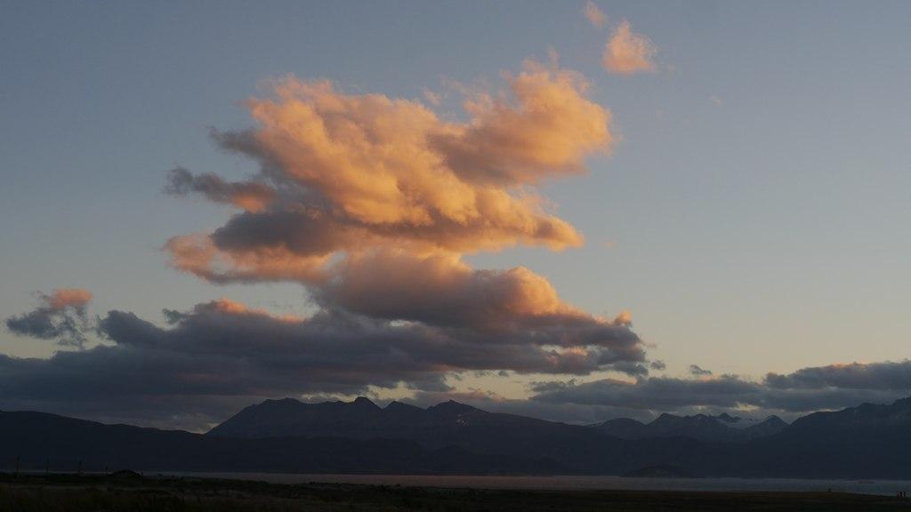 Les nuages de Ushuaïa