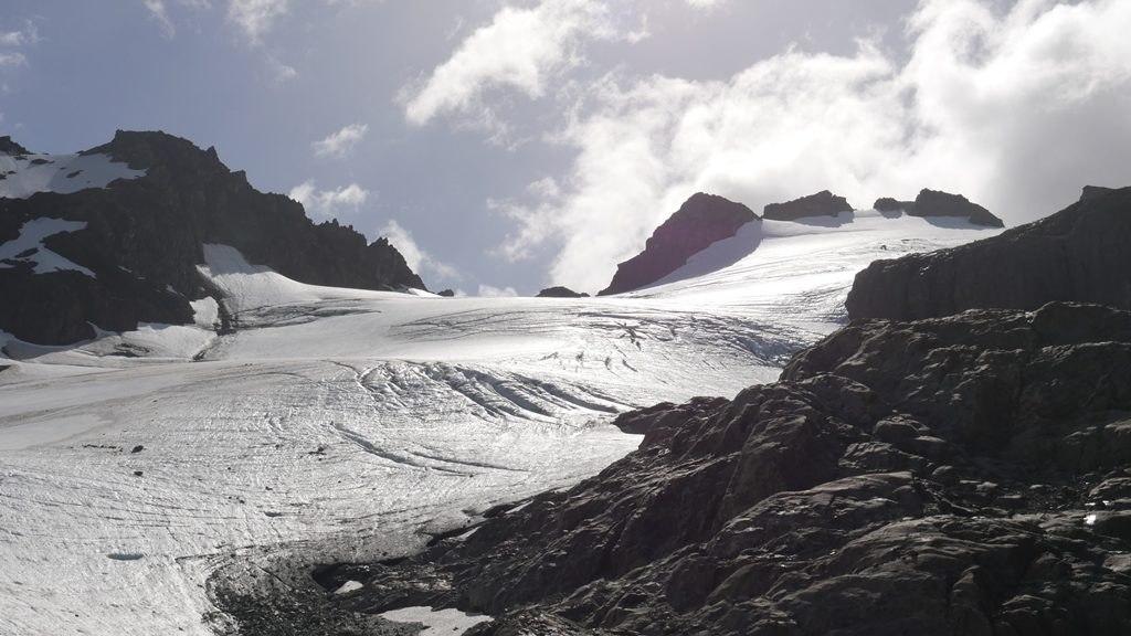 Sentier laguna tempanos : glacier vinciguerra