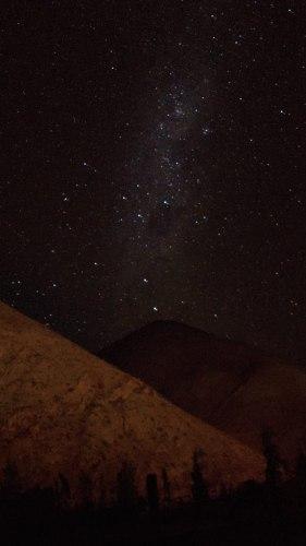 La voie lactée dans la Vallée de l'Elqui