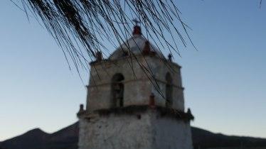 L'église de Parinacota au Parc Lauca