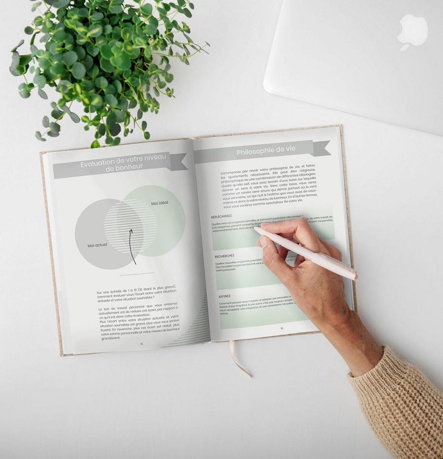 Un cahier d'exercices de développement personnel