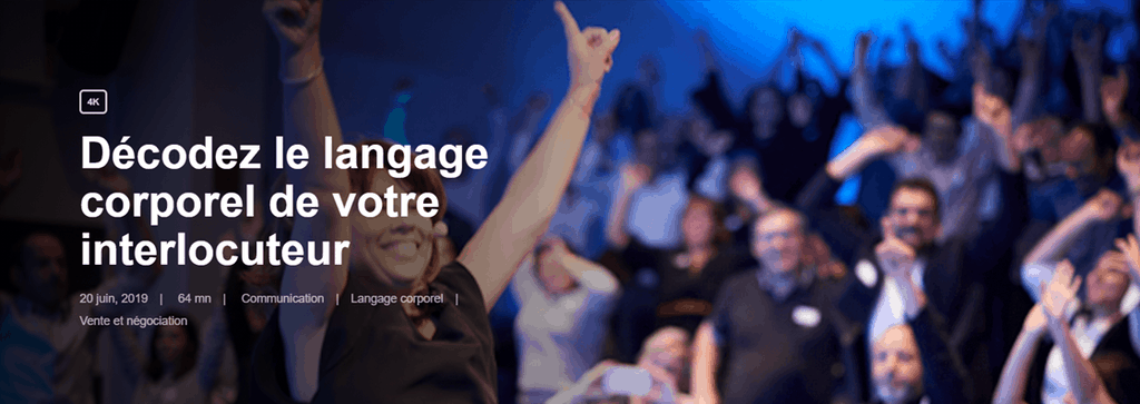 Formation - Décodez le langage corporel de votre interlocuteur - Olga Ciesco