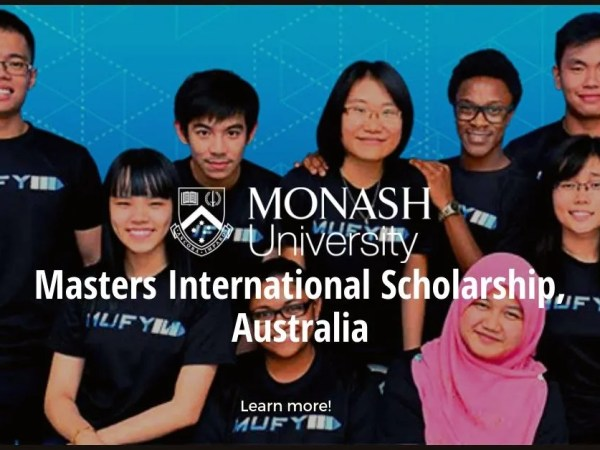 Monash University Faculty of Law Masters International Scholarship, Australia