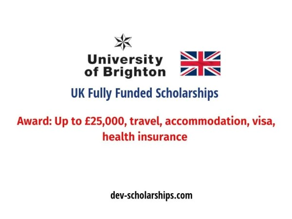 UK Forward Bound Fully Funded Scholarships for International Students, 2019