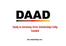 DAAD Fully Funded Postgraduate Scholarships Germany for Developing Countries' 2020