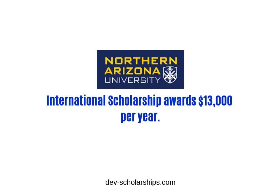 International Excellence Award at Northern Arizona University, USA