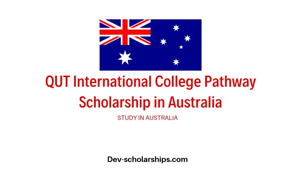 QUT International College Pathway Scholarship in Australia