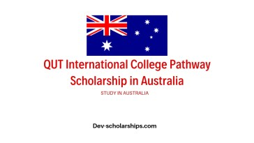 QUT International College Pathway Scholarship in Australia, 2020