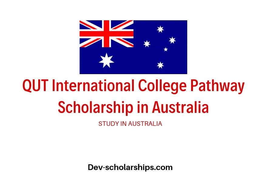 QUT International College Pathway Scholarship in Australia, 2020