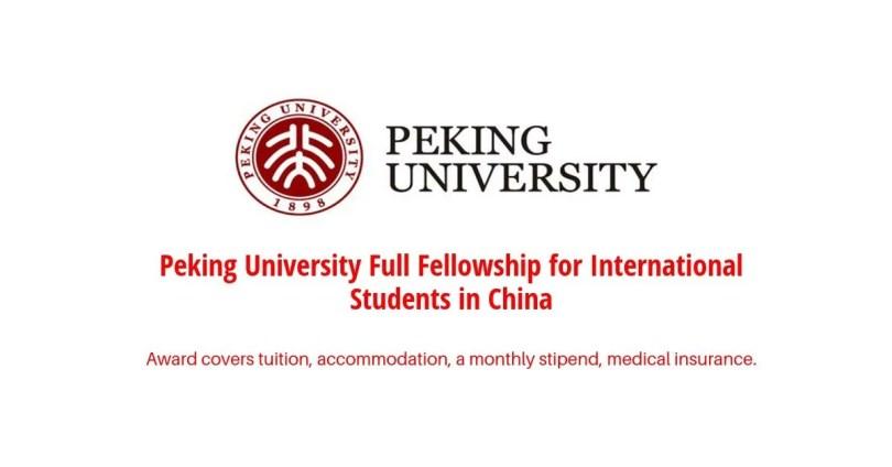 Yenching Academy of Peking University Full Fellowship for International Students in China