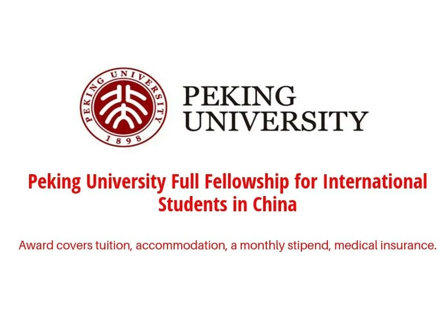 Yenching Academy of Peking University Full Fellowship for International Students in China