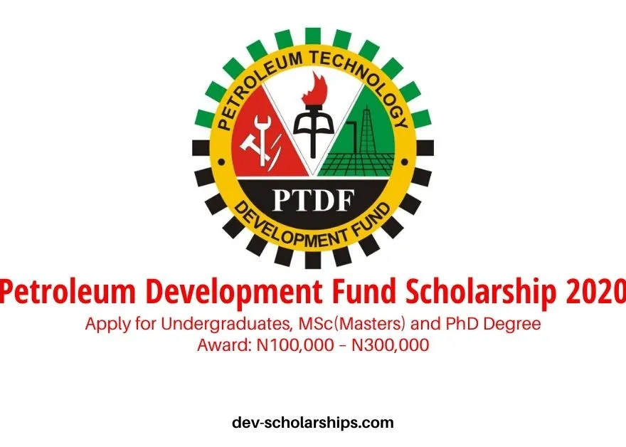 Petroleum Development Fund Scholarship 2020