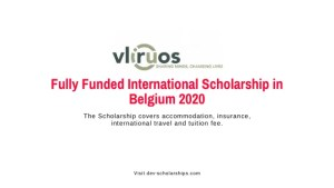 VLIR-UOS Full Scholarships to Study in Belgium 2020/2021 ...