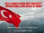 Fully-Funded Cyprus West University Tomorrow's Leaders International Scholarship in Turkey