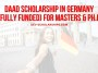 DAAD Scholarship in Germany (Fully Funded) For Masters & Ph.D