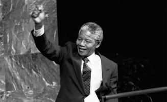 Nelson Madela. Photo by United Nations Photo.