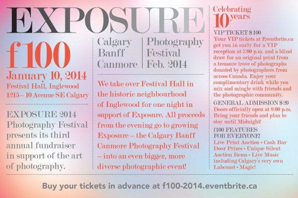 f100 exposure photography festival