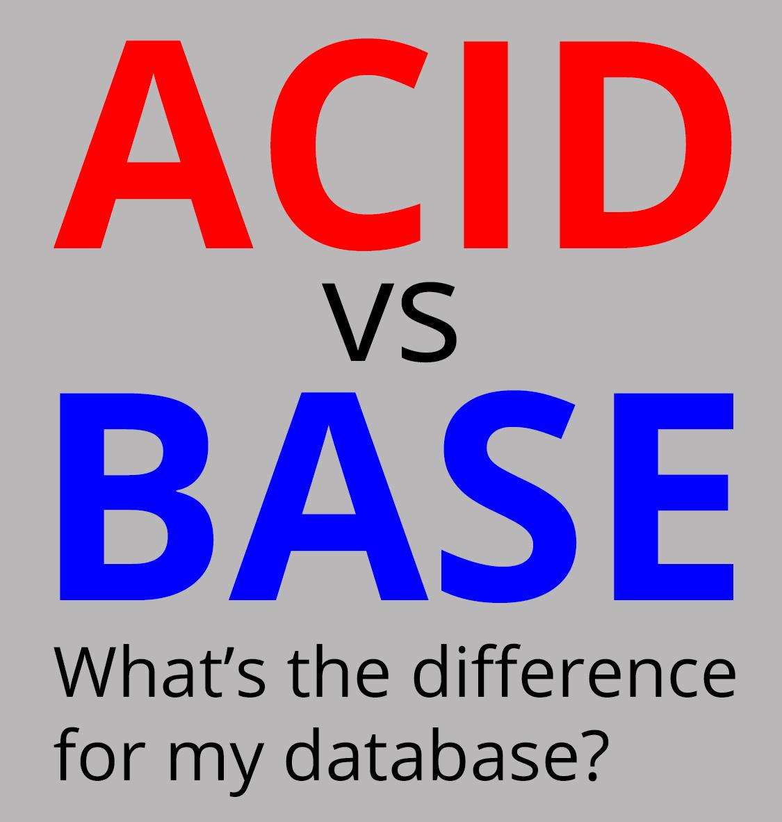 Graph Databases For Beginners Acid Vs Base Explained