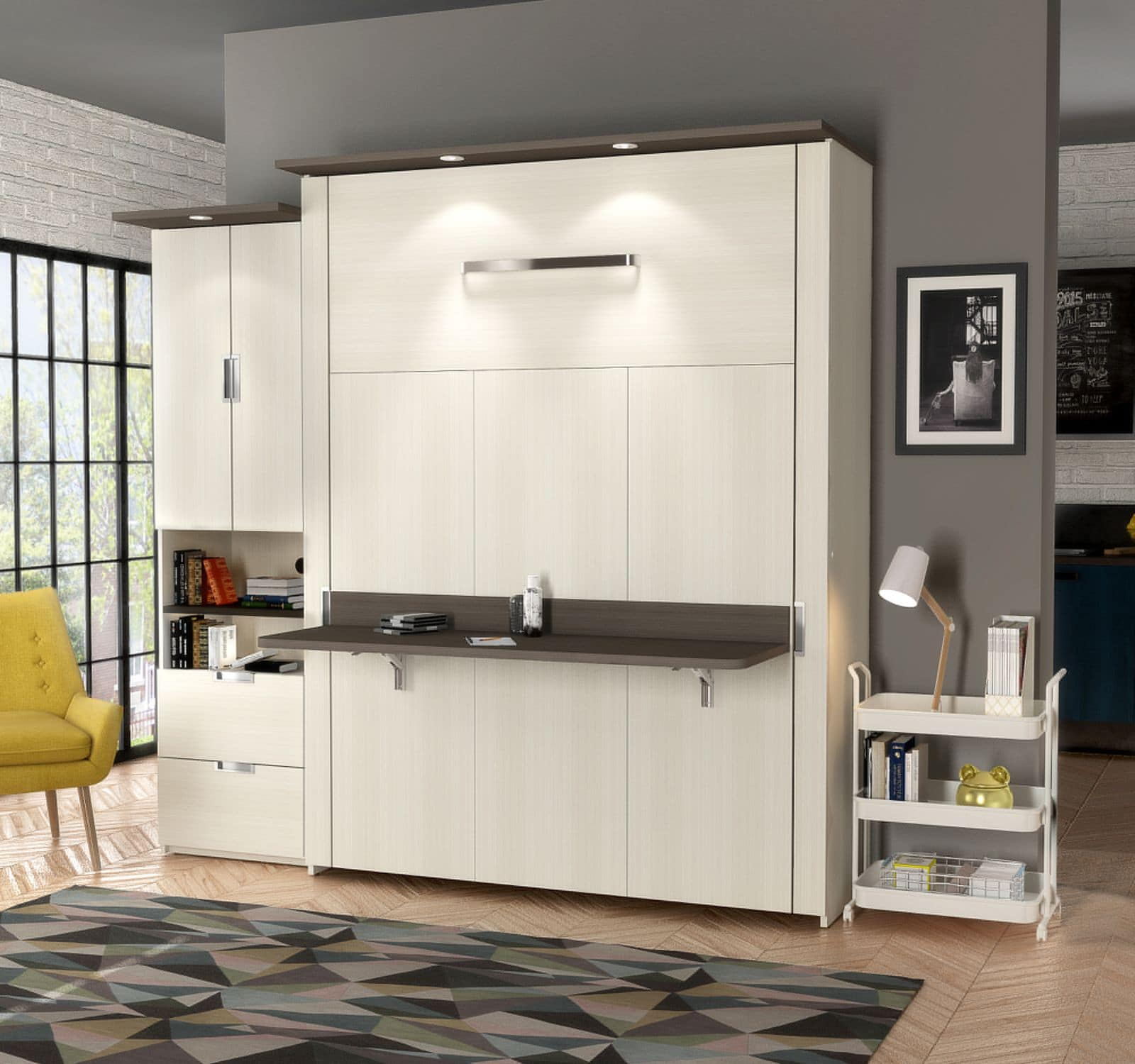 4 Reasons To Add A Murphy Bed With Desk To Your Home Bestar