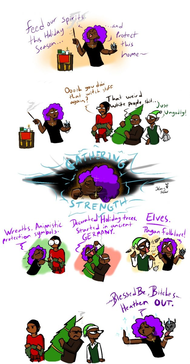 Comic: Some Black folks do Witchcraft. Get over it.