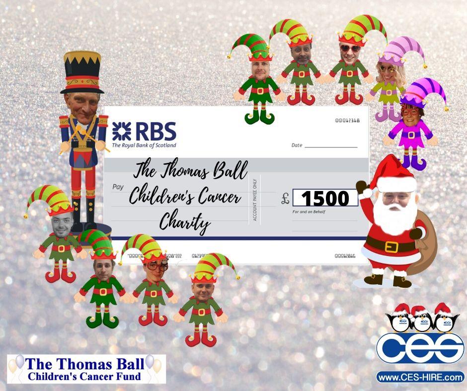 Thomas ball charity small