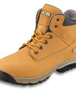 JCB WORKMAX Honey Nubuck Boot with Steel Midsole