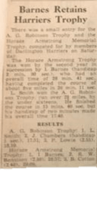 1 Horace armstrong trophy