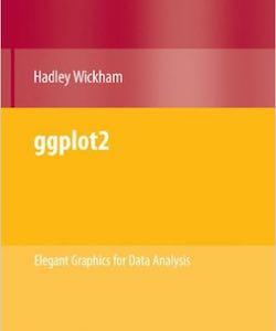 Book ggplot2 par Hadley Wickham