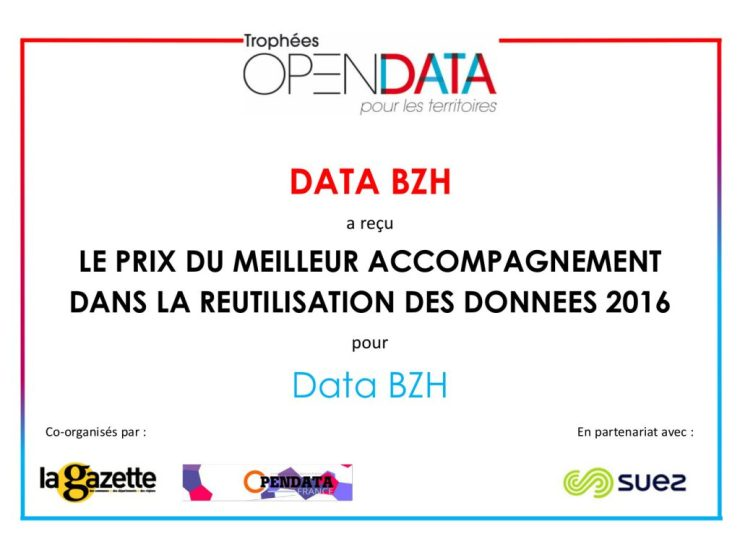 Trophée Open Data