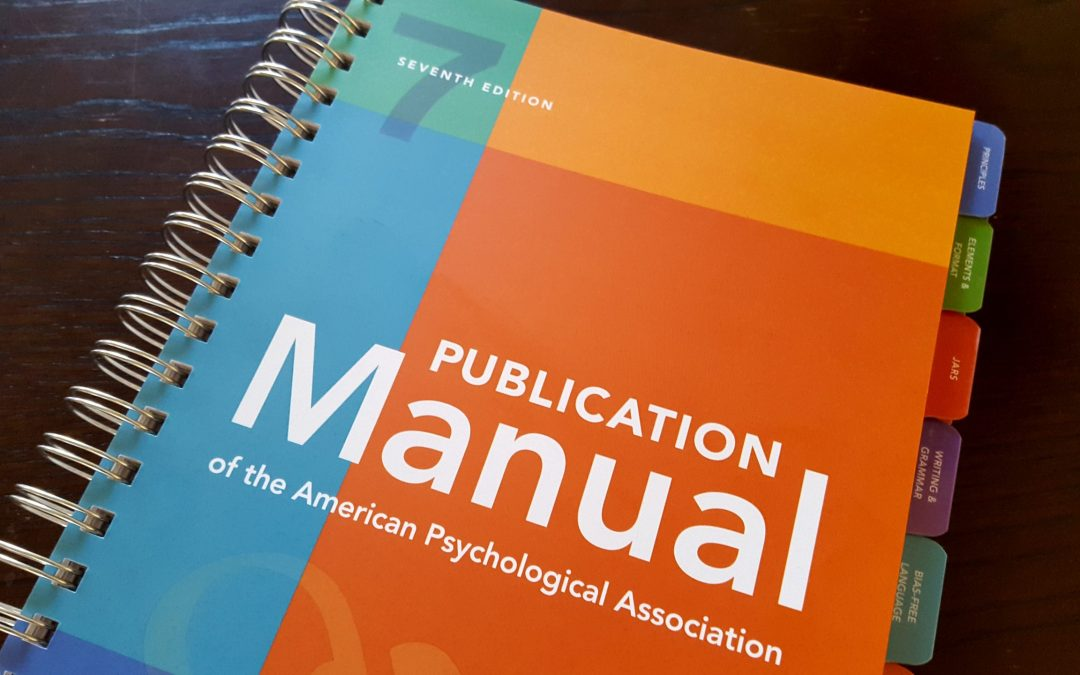 APA Seventh: What's New? 20 Changes You Need to Know About