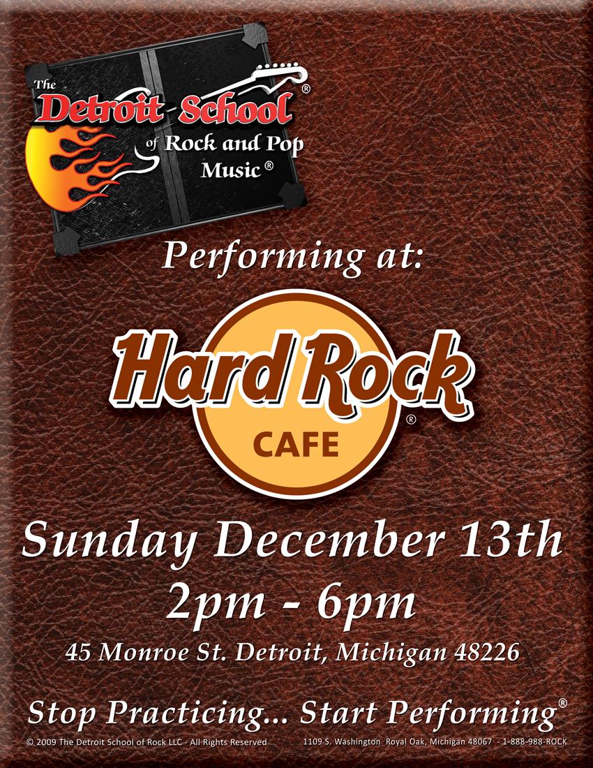 DSRP Rocks the Hard Rock! – December 13th