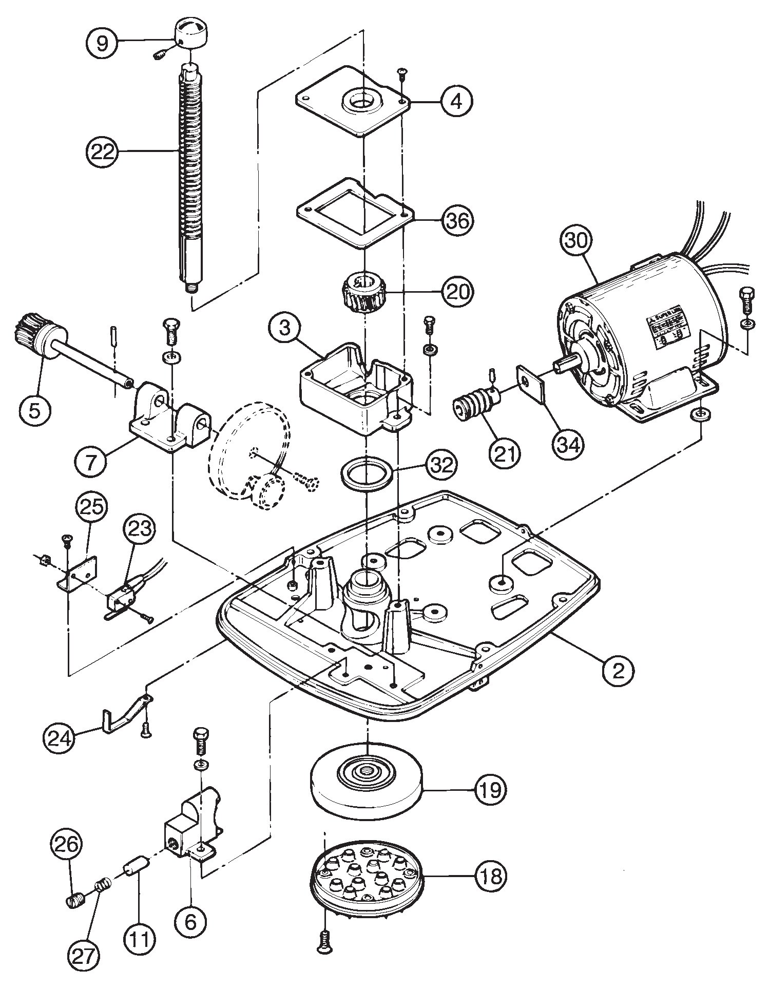 Swan Si 200e Shaver Replacement Parts