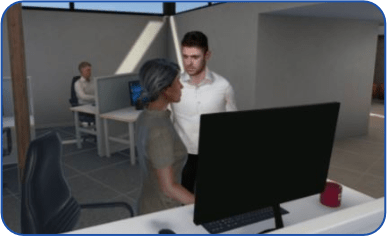 power and exclusion vr training