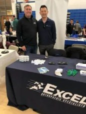 Dr. Benjamin Levine and Dr. Peter Yeh attended the Stoneham Health and Wellness Expo
