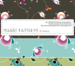 Magic Patterns – Free Photoshop and Illustrator Patterns