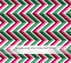 Zigzag Seamless Pattern Vector Illustration