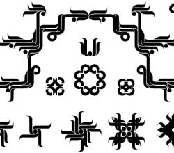Stock Vector Floral Design Elements