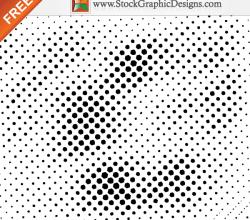 Free Halftone Vector Design Elements