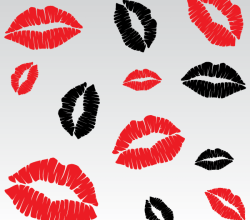 Vector Lip Kiss Images