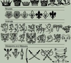 70 Heraldic Vector Images Free Download