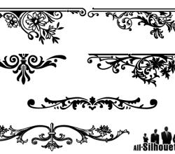 Floral Ornaments Graphic Design