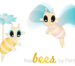 Free Bee Vector Image