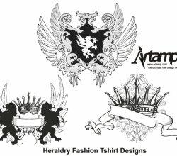 Heraldry Fashion Tshirt Design